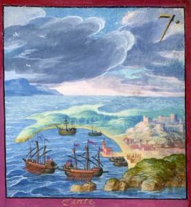 Ζάκυνθος 1578 από το έργο Ι viaggi e le avventure di Carlo Maggi