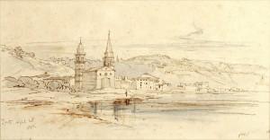Edward Lear, Ζάκυνθος, 25-4-1848