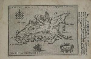 Χάρτης Ζακύνθου, 1586