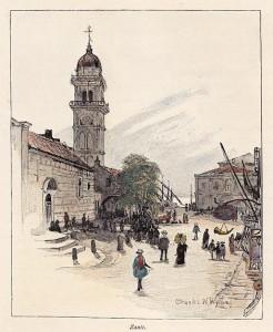 Charles W. Wyllie, Πλατεία Αγίων Πάντων, 1892
