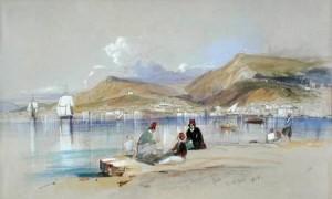 H. S. Bush, Ζάκυνθος, 1851, υδατογραφία