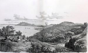 Ζάκυνθος, από το έργο του Otto Magnus von Stackelberg, La Grèce, Vues pittoresques et topographiques, Παρίσι 1834