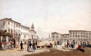 Joseph Cartwrigt, Η Πλατεία Αγίου Μάρκου και στο βάθος το λιμάνι,  London 182